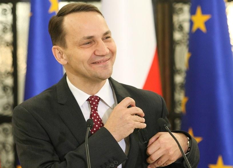 """Radosław Sikorski musi się liczyć z """"emocjonalnymi komentarzami"""" /Michał Dyjuk/Reporter /East News"""