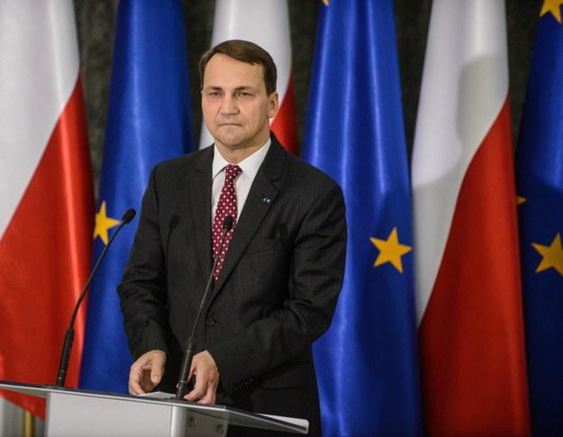 """Radosław Sikorski przeprasza dziennikarzy. """"Zawiodła mnie pamięć"""""""