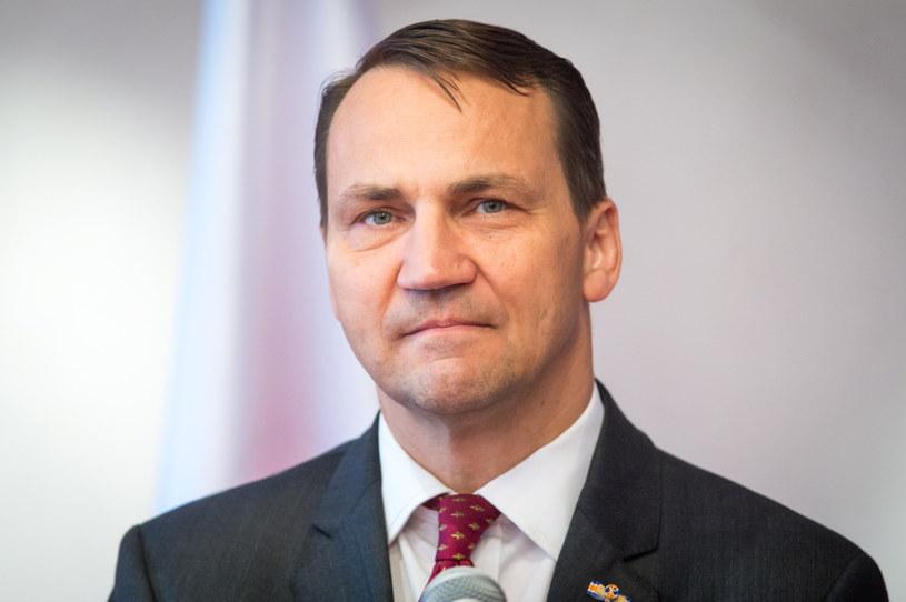 Radosław Sikorski, szef MSZ /Tytus Żmijewski /PAP