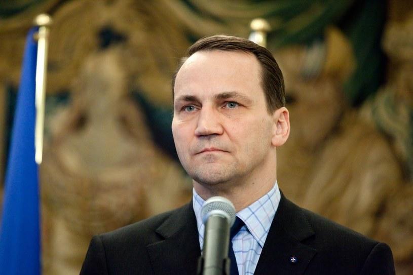 Radosław Sikorski, szef polskiej dyplomacji. /KAROL SEREWIS /East News