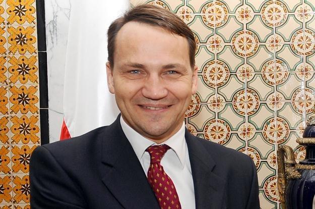 Radosław Sikorski w Tunezji /AFP