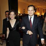 Radosław Sikorski z żoną Anne Applebaum