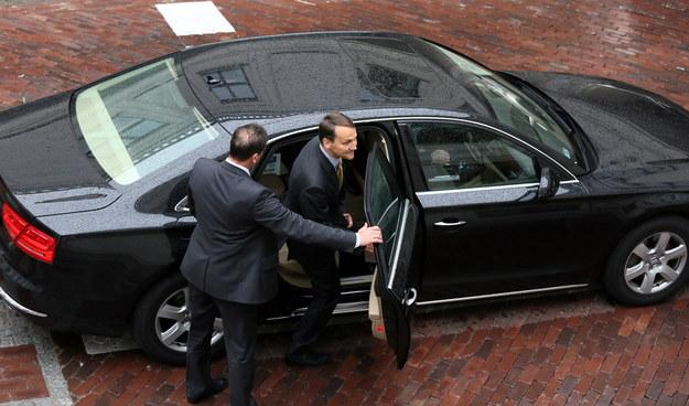 Radosław Sikorski złożył we wtorek pisemną rezygnację z funkcji marszałka Sejmu /Tomasz Gzell /PAP