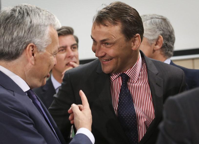Radosław Sikorski złożył zawiadomienie o możliwości działania grupy przestępczej /PAP/EPA
