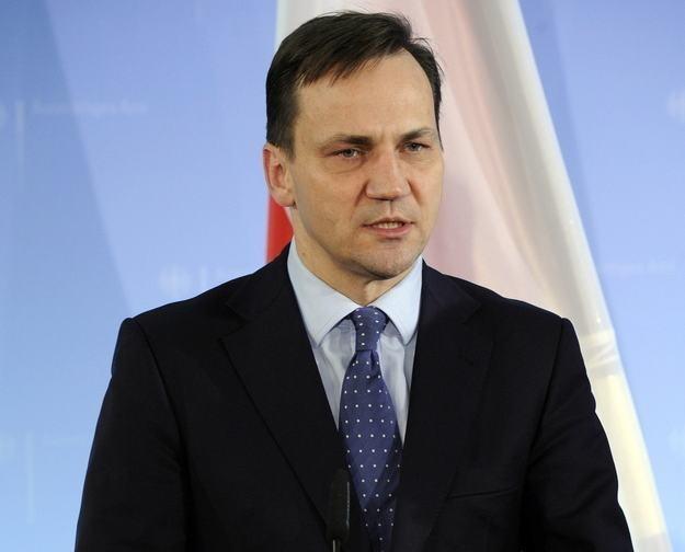 Radosław Sikorski /AFP