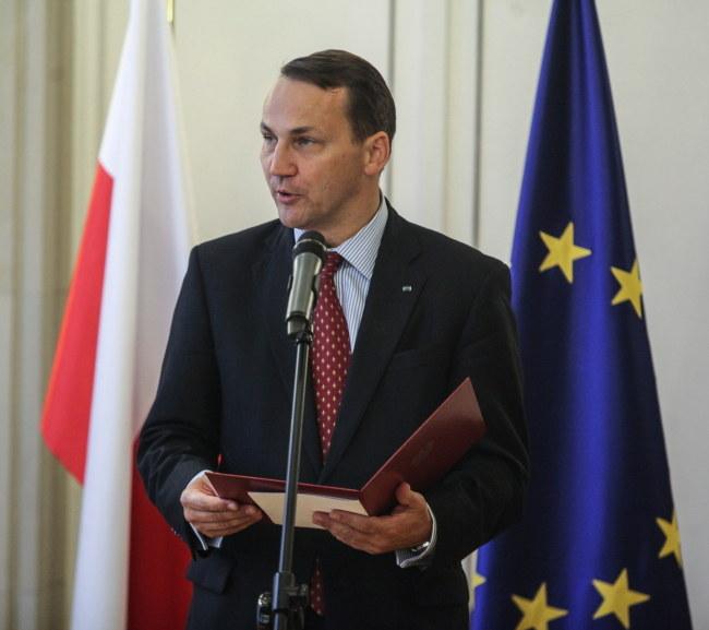 Radosław Sikorski. /Jakub Kamiński   /PAP