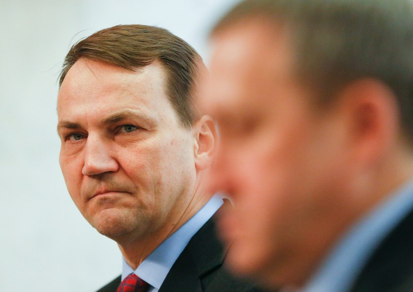 Radosław Sikorski /SERGEY DOLZHENKO /PAP/EPA