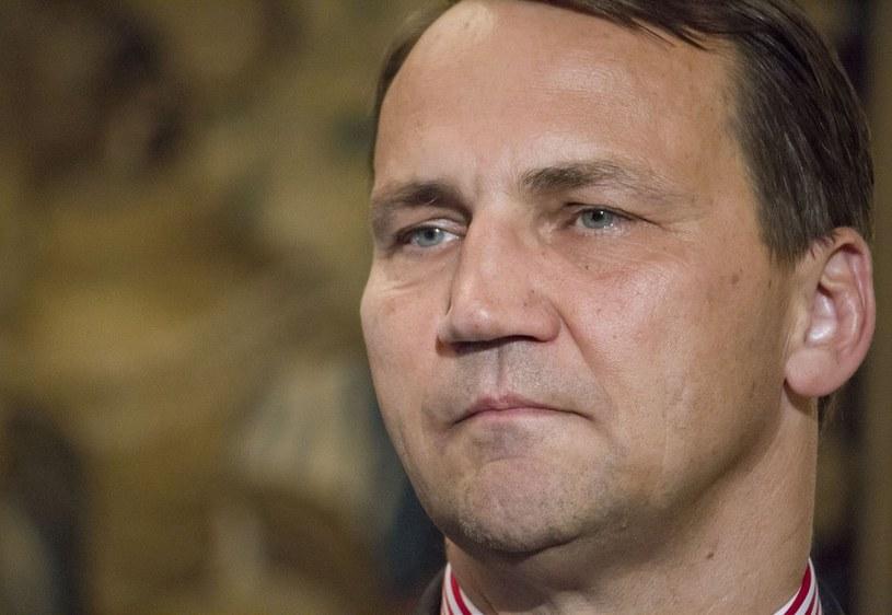 Radosław Sikorski /Krystian Dobuszyński /Reporter