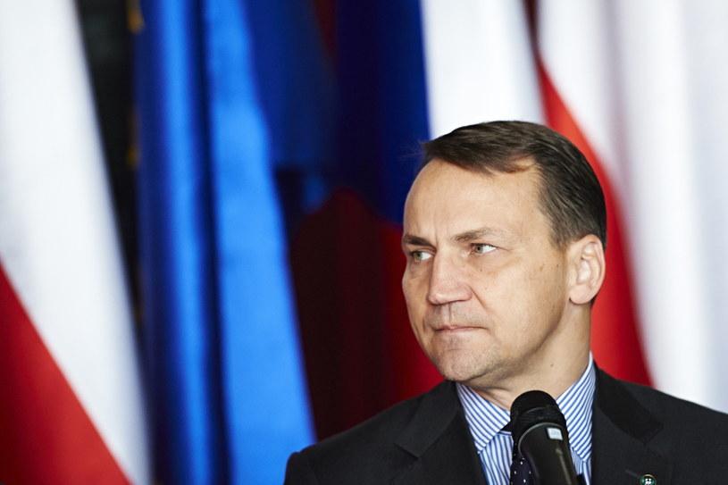 Radosław Sikorski /Adam Warżawa /PAP