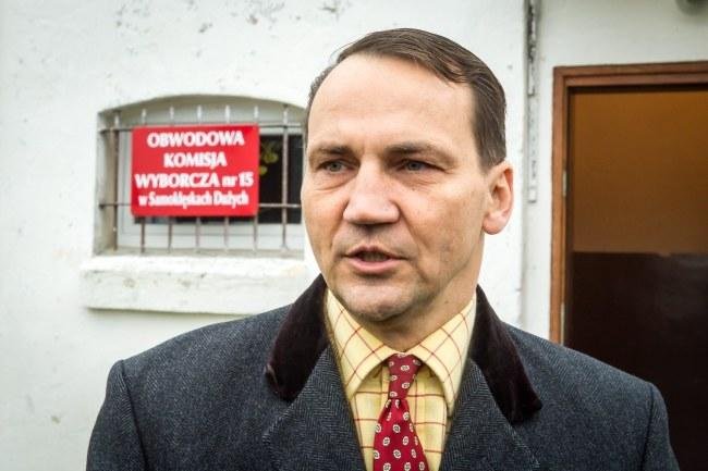 Radosław Sikorski /PAP/Tytus Żmijewski /PAP