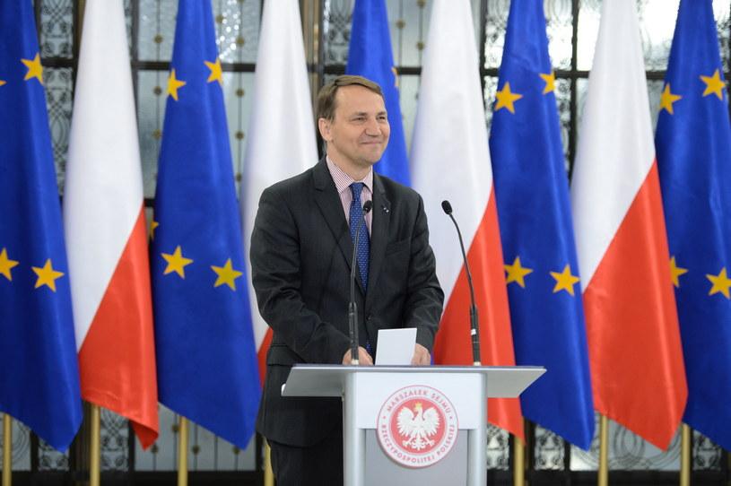 Radosław Sikorski /Jacek Turczyk /PAP