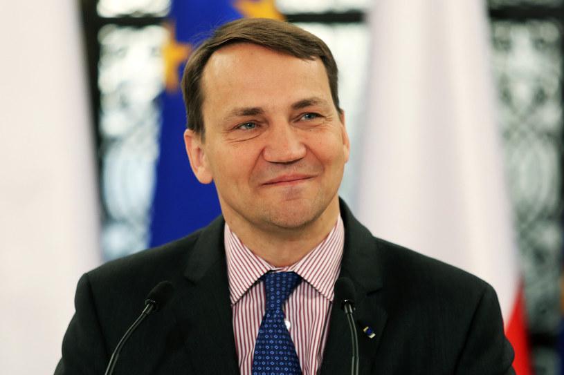 Radosław Sikorski /Grażyna Myślińska /Agencja FORUM