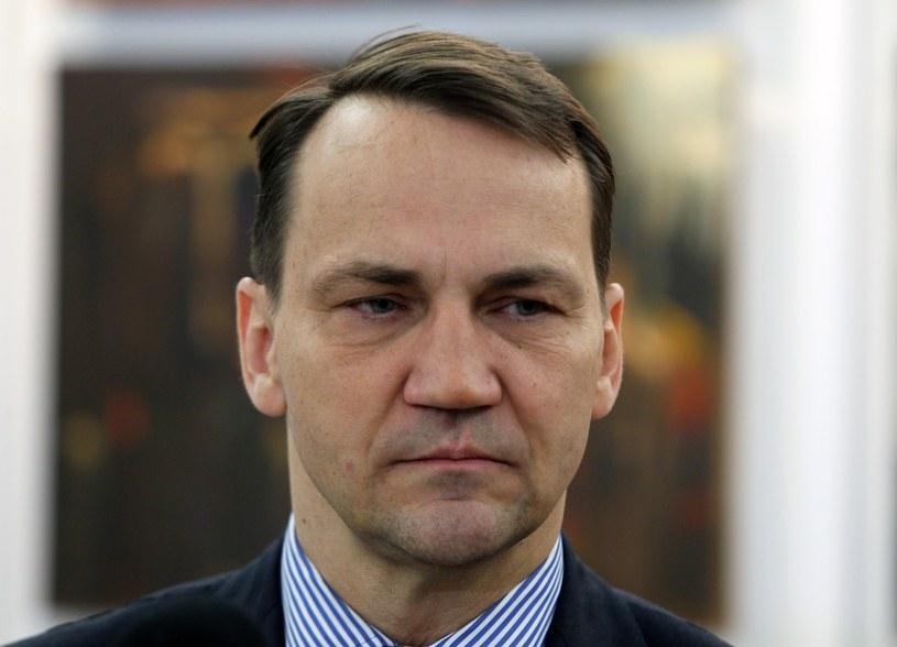 Radosław Sikorski /Fot. Stanislaw Kowalczuk /East News