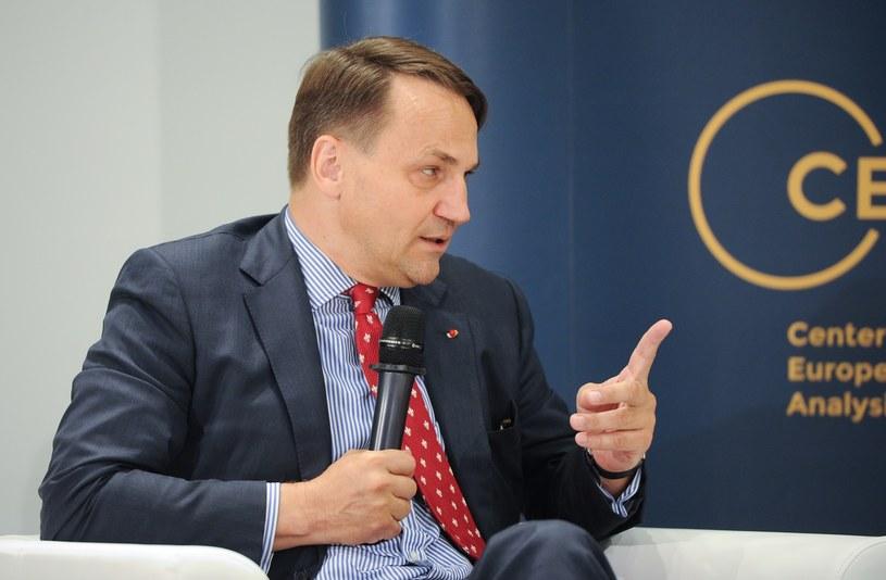 Radosław Sikorski /Rafał Oleksiewicz /Reporter