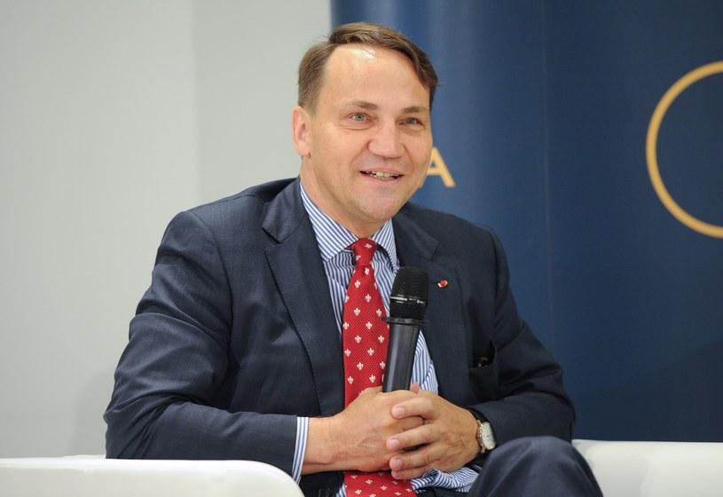Radosław Sikorski /Rafał Oleksiewcz /Reporter