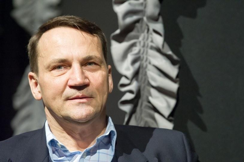 Radosław Sikorski /Fot. Wojciech Strozyk /Reporter