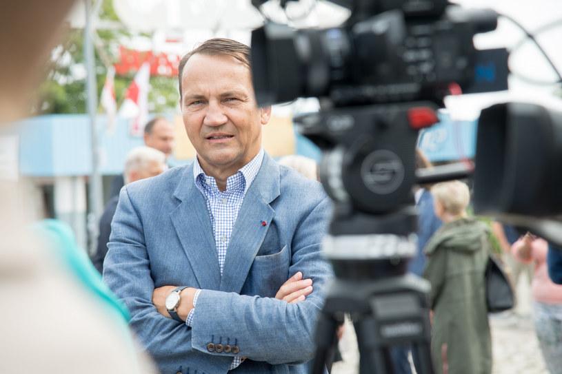 Radosław Sikorski /Wojciech Stróżyk /Reporter