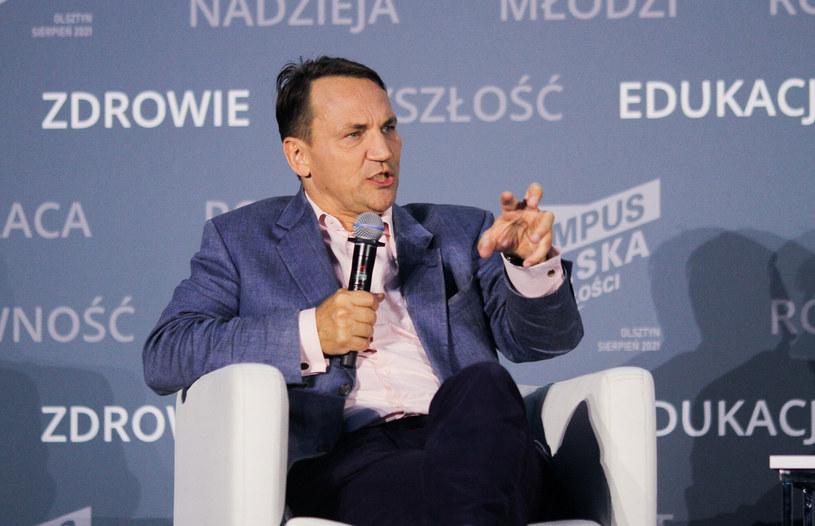 Radosław Sikorski /Artur Szczepański /Reporter