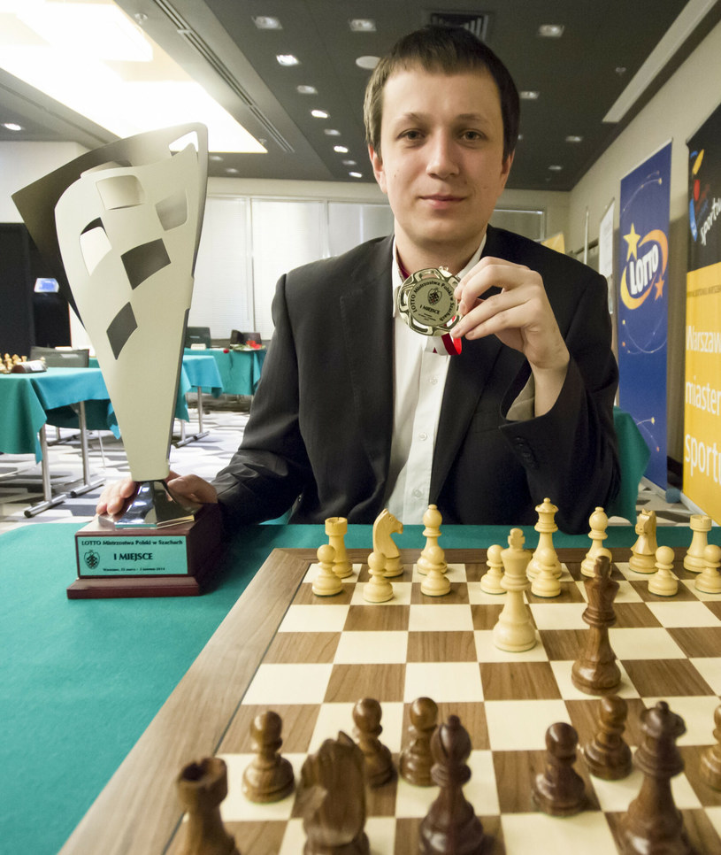 Radosław Wojtaszek mistrzem Polski został m.in. w 2014 roku /Krystian Dobuszyński /East News