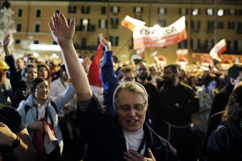 Radosna uroczystość w Watykanie /PAP/EPA