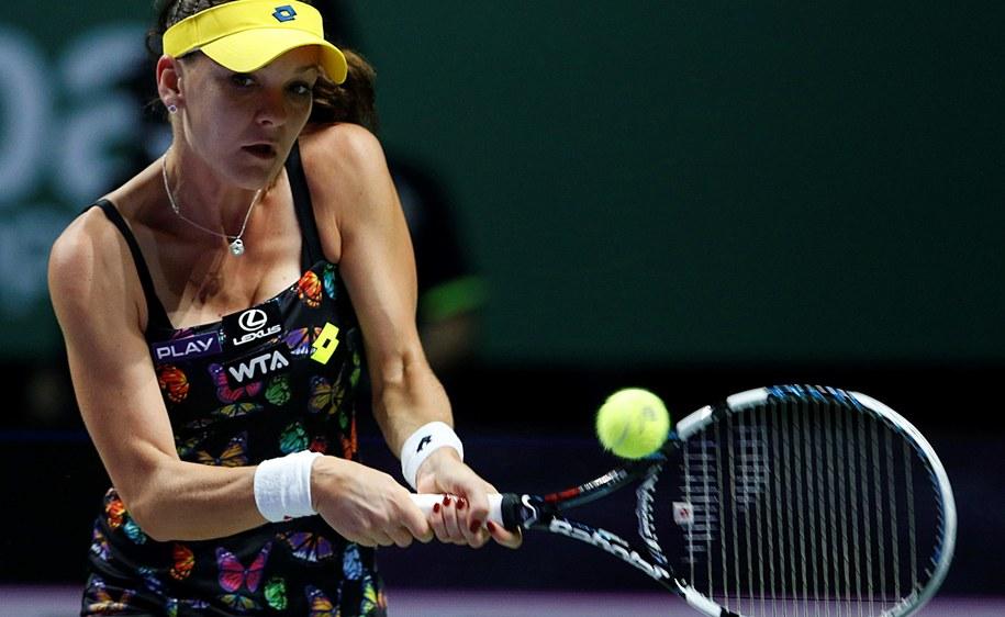 Radwańska przegrała z Halep w półfinale /WALLACE WOON /PAP/EPA