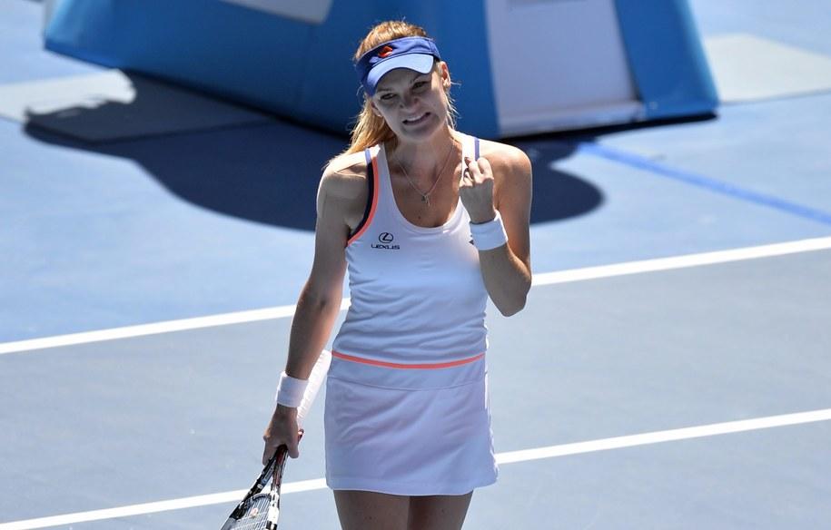 Radwańska w półfinale Australian Open! /FRANCK ROBICHON /PAP/EPA