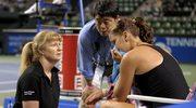 Radwańska ze łzami w oczach zakończyła mecz