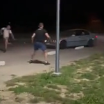 """Radymno: Kierowca bmw """"polował"""" na pieszych. Zatrzymania"""