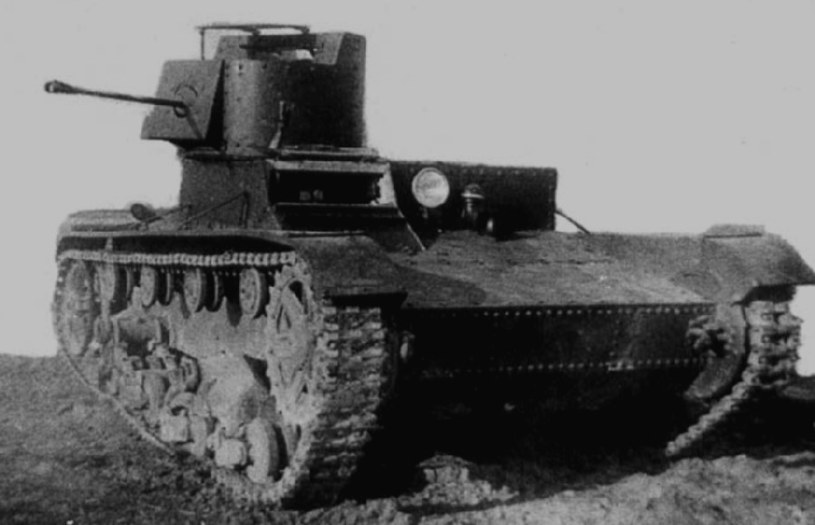 Radziecki czołgOT-26 (KhT-26) /Wikimedia Commons /INTERIA.PL/materiały prasowe
