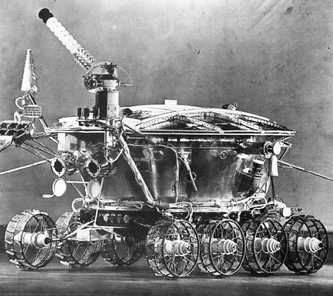 Radziecki pojazd księżycowy - Łunochod /materiały prasowe