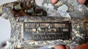 Radziecki samolot wydobyty pod Wyszogrodem. Ustalono datę jego zestrzelenia i nazwiska załogi