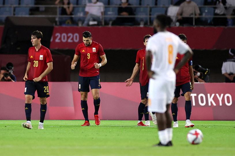 Rafa Mir (w środku) zdobył trzy bramki w meczu z WKS /Koki Nagahama /Getty Images