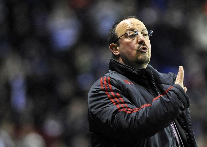 Rafael Benitez jeszcze w roli menedżera Liverpool FC /AFP