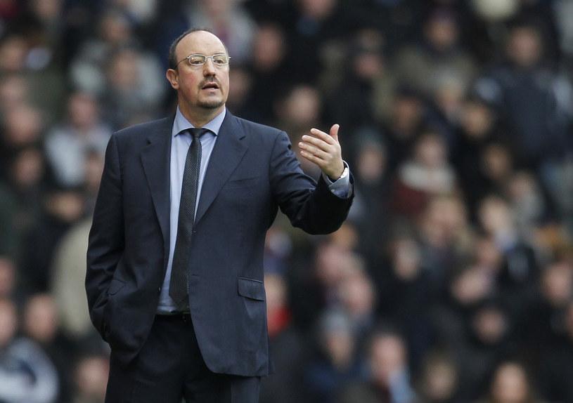 Rafael Benitez ma powody do zadowolenia. Dzięki wygranej jego zespół wydostał się ze strefy spadkowej /AFP