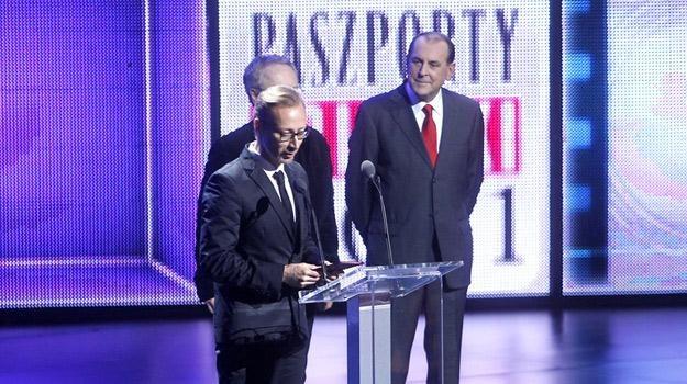 Rafael Lewandowski odbiera Paszport Polityki za 2011 rok /AKPA