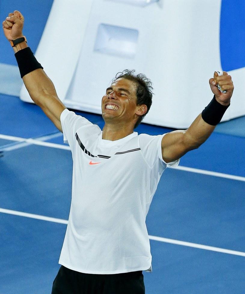 Rafael Nadal awansował do półfinału Australian Open /PAP/EPA