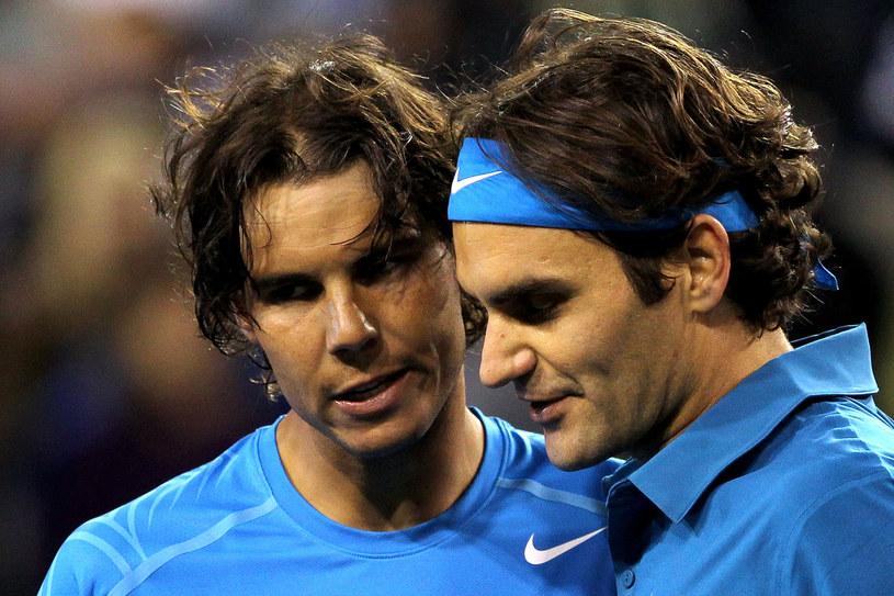 Rafael Nadal i Roger Federer /AFP