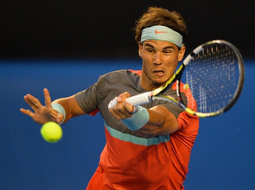 Rafael Nadal jest w znakomitej formie /AFP