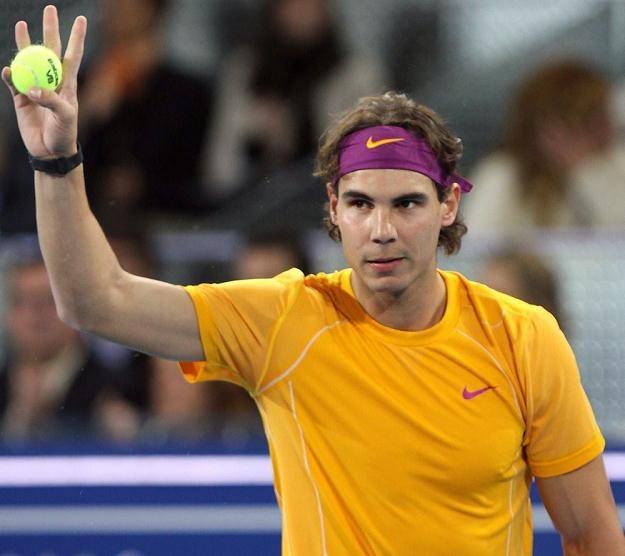 """Rafael Nadal - rakieta numer """"jeden"""" na świecie. /AFP"""