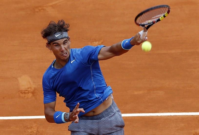 Rafael Nadal w Monte Carlo /AFP