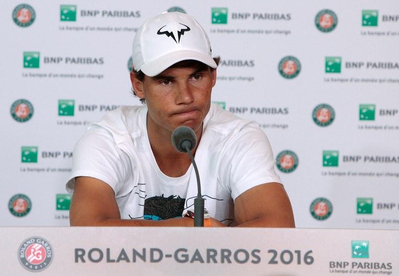 Rafael Nadal w piątek wycofał się z turnieju /AFP