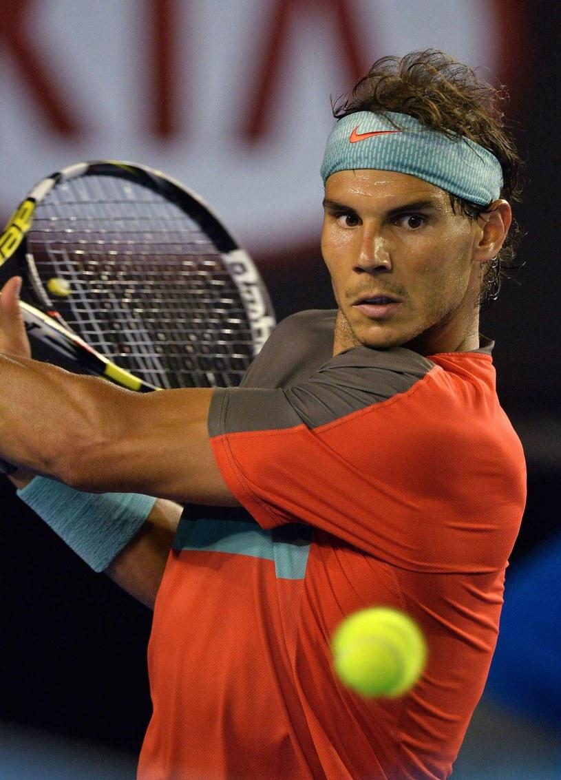 Rafael Nadal wraca do rywalizacji /AFP