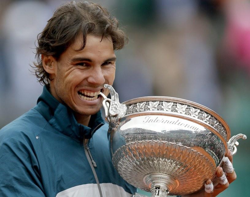 Rafael Nadal znów okazał się najlepszy w Paryżu /PAP/EPA