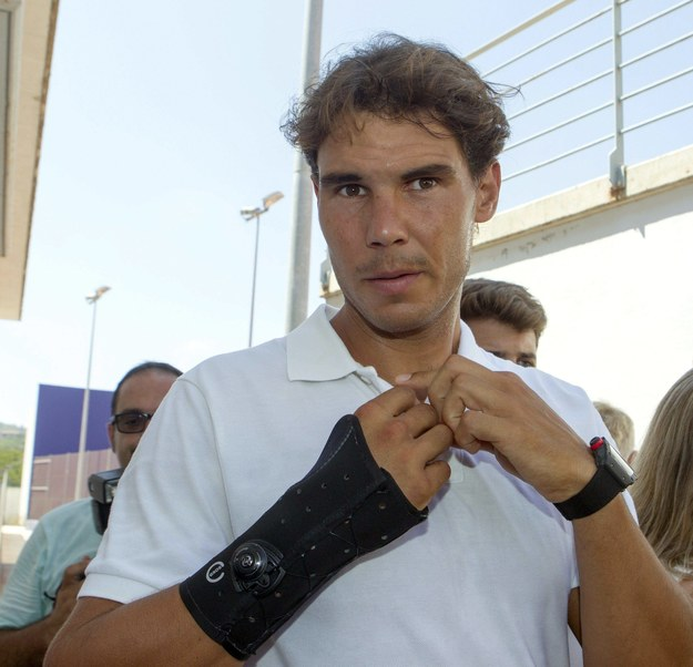 Rafael Nadal /MONTSERRAT T DIEZ /PAP/EPA