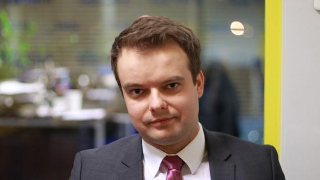 Rafał Bochenek jest posłem-elektem Prawa i Sprawiedliwości /Michał Dukaczewski /RMF FM
