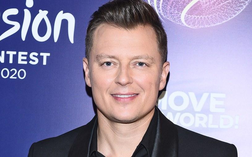 Rafał Brzozowski będzie reprezentował Polskę na Eurowizji /Andreas Szilagyi  /MWMedia