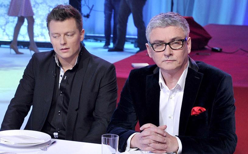 Rafał Brzozowski i Artur Orzech / Engelbrecht /AKPA