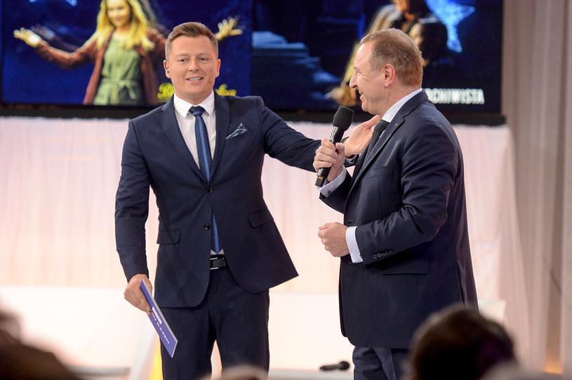 Rafał Brzozowski Jacek Kurski /Niemiec