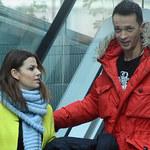 Rafał Cieszyński i Alżbieta Lenska razem pod studiem TVP