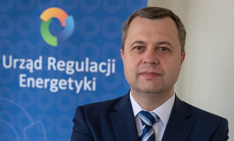 Rafał Gawin, prezes URE /Informacja prasowa